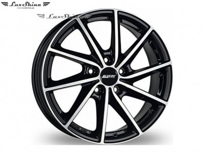 Alutec Singa 7x17 5x112 ET49 DIA57.1 Diamond black front polished